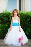 Petite demoiselle d'honneur Photo stock