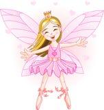 Petite fée rose Images libres de droits