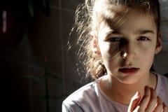 Petite femme Images libres de droits