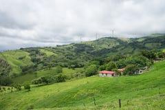 Petite ferme de Costa Rica photographie stock libre de droits