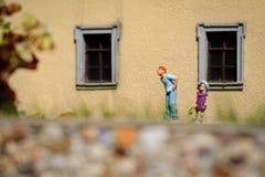Petite figurine Images libres de droits