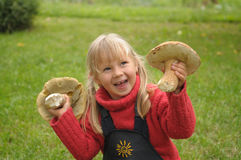 Petite fille Images libres de droits