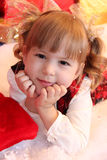 Petite fille adorable Images stock