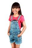 Petite fille asiatique Images libres de droits