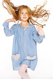 Petite fille branchante Image libre de droits