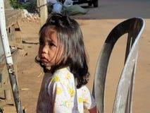 Petite fille cambodgienne Photographie stock libre de droits