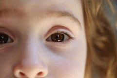 Petite fille curieuse photographie stock libre de droits