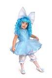 Petite fille dans costumé. Photos libres de droits