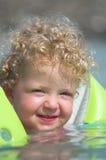 Petite fille dans l'eau 3 Photos libres de droits