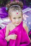 Petite fille dans la robe orientale Photo libre de droits