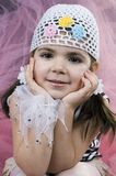 Petite fille de coquette Photographie stock