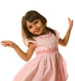 Petite fille de danse Photo stock