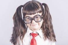 Petite fille de génie Photographie stock libre de droits