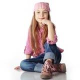 Petite fille de mode photos libres de droits
