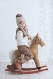 Petite fille de mode image libre de droits