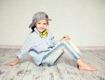Petite fille de mode photo libre de droits