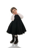 Petite fille de regard mignonne Images stock
