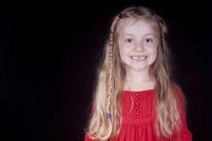 Petite fille de sourire Photo libre de droits