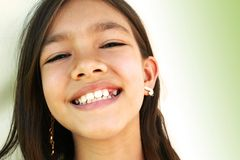 Petite fille douce Photos libres de droits