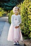 Petite fille douce Photo libre de droits