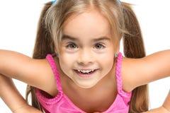 Petite fille drôle Photos libres de droits