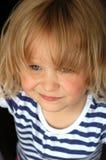 Petite fille effrontée Photographie stock