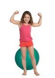Petite fille en bonne santé Photographie stock libre de droits