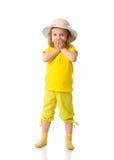 Petite fille Excited photos libres de droits