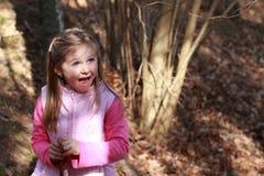 Petite fille fascinée Photo libre de droits