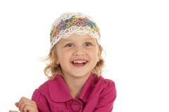 Petite fille gaie Photographie stock libre de droits