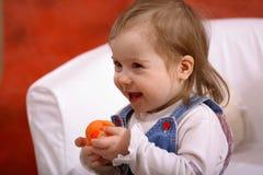 Petite fille handicapée Photographie stock libre de droits