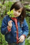 Petite fille heureuse Photographie stock
