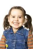 Petite fille heureuse Photographie stock libre de droits