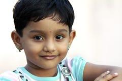 Petite fille indienne Photographie stock libre de droits