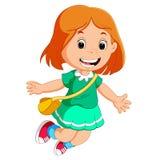 Petite fille mignonne illustration libre de droits