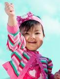Petite fille mignonne photos stock