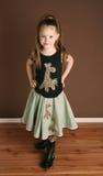 Petite fille mignonne Photos libres de droits