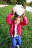 Petite fille mignonne Image libre de droits
