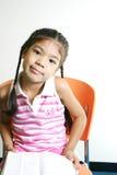 Petite fille mignonne 80 image libre de droits
