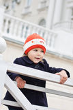 Petite fille mignonne heureuse Image libre de droits