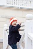 Petite fille mignonne heureuse Images libres de droits