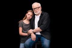 Petite-fille première génération et adolescente Photo libre de droits