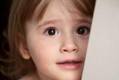 Petite fille triste Photo libre de droits