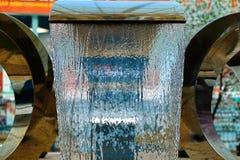 Petite fontaine au mail Photographie stock