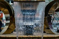 Petite fontaine au mail Images stock