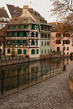 Petite France. In Strasbourg, France royalty free stock image