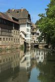 Petite France. Old french quarter at Strasbourg, France Royalty Free Stock Photos
