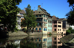 Petite France, Alsace, Strasbourg Stock Photos
