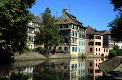 Petite France, Alsace, Strasbourg Stock Photos