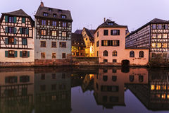 Petite-France architecture Royalty Free Stock Photography
